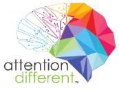 Attention Different Sticky Logo