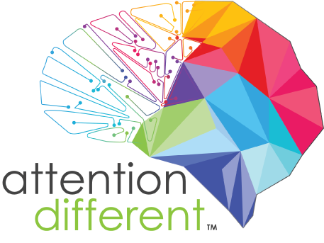 Attention Different Retina Logo