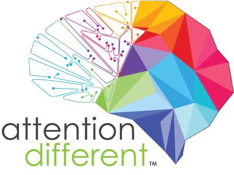 Attention Different Retina Logo